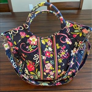 Vera Bradley Two Way Tote Adjustable Crossbody Bag